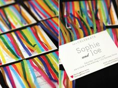 Yes! This is perfect for ANY party--just use appropriate colors: streamer invitations