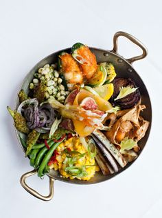 Seasonal veggie plate at Restaurant Eugene in Atl, GA     Best Southern Foods | Garden and Gun