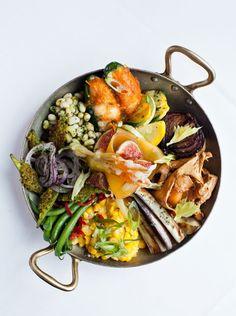 Seasonal Vegetable Plate, Restaurant Eugene, Atlanta GA