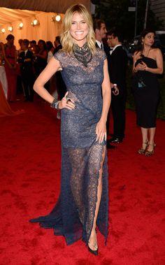 Met Gala 2012 - Heidi Klum