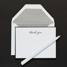 Traditional Thank You | Sugar Paper Los Angeles
