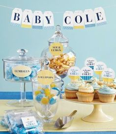 Host a beautiful baby shower with free Martha Stewart printables for Avery labels.