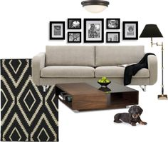 """Living Room"" by cinnamon-1 on Polyvore"