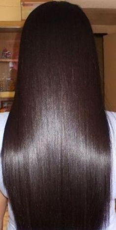 Mix apple cider and water in a spray bottle and mist hair. This conditions your hair and gives your hair a healthy shine. Mix 2c. water and 1/2c. vinegar. Apply after shampooing and let sit for a few minutes. Rinse out your hair. Enjoy!