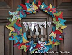 Beautiful Butterflies Wreath Tutorial