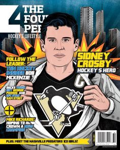 Sidney Crosby is the Hockey Hero :)