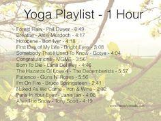 One Hour Yoga Playlist