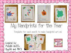 Handprint Art Templates