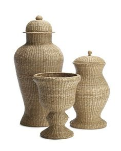 Woven Ginger Jars #WilliamsSonoma