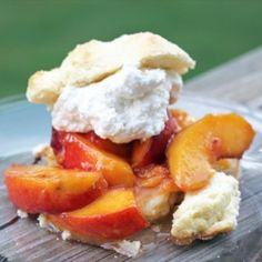 #134056 - Peach Shortcake By TasteSpotting