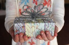 Stylish #Christmas Gift Wrapping Ideas