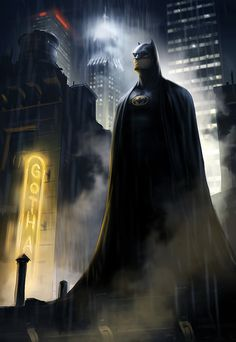 Batman watching over the night sky... Assuring that the folks of Gotham can rest easy... Thank you sir!