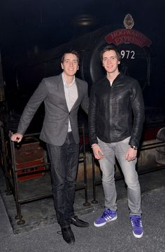 James & Oliver Phelps (Fred and George) - Now