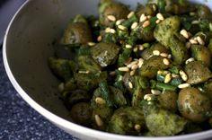 pesto potato salad by smitten, via Flickr