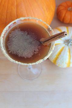 Pumpkin Spice Latte Martini #DIY #Cocktails #Pumpkin #October