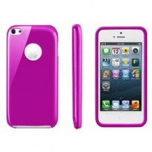 Funda iPhone 5C Muvit - Gel Rosa  AR$ 77,51
