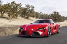 Toyota FT-1 - Twitter / Toyota: The name says it all. #ToyotaFT1 ...