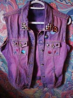 purple jean jacket!!