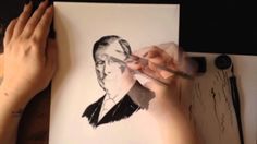 Bram Stoker Time Lapse Pen & Ink Drawing #INKtober #AllHallowsRead Time-lapse pen and ink of Bram Stoker. Created with Speedball Pens/Nibs and Winsor Newton Ink on Bristol Music: Night on Bald Mountain: https://itunes.apple.com/us/album/night-on-bald-mountain/id260835286?i=260835493 Check out inktober information at: http://mrjakeparker.com/inktober  This month is also All Hallows Read! Give a book this Halloween! Perhaps the classic Dracula: http://www.allhallowsread.com/