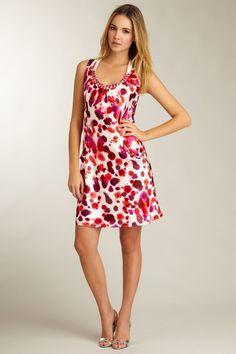 Love Token  Beaded Neck Dress   #HLsummer