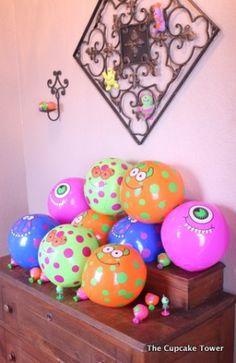 'Little Monster' 1st Birthday Party