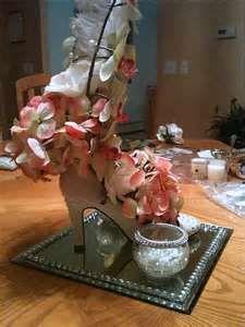 High Heel Shoes Table Centerpiece Quinceneara Pinterest
