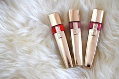 Just tried the L'Oreal Shine Caresse glosses...and so far they are pretty fantastic!