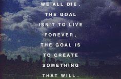 chuckpalahniuk, life, quotes, creat, inspir, word, chuck palahniuk, goal, live