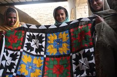 Fair trade of Rilli Art means a lifeline for these women in rural Sindh (Pakistan).
