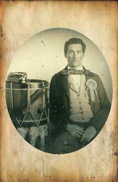 Cockade (Rosette), Confederate Drummer.