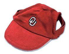 Oklahoma Sooners Dog Hat