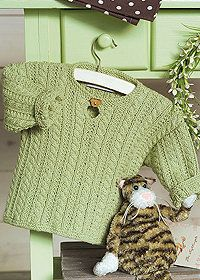 Free Knitting Pattern - Toddler & Children's Clothes: Child's Cable