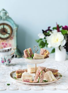 Tea Sandwiches -Royaume-Uni, collection Épicerie du Monde