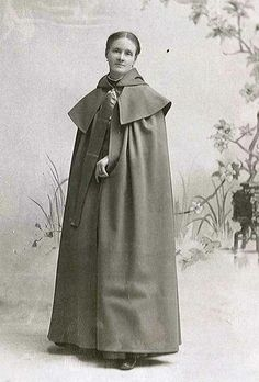 """Sister Emma Jane Neale (1847-1943, Mount Lebanon) developed a cloak business that served as an example of genuine, honest Shaker products highly valued in the early 20th century. In doing so, she established the Mount Lebanon Shakers as key figures in the 20th century economy not just as consumers, but producers. Read Sister Emma's story at www.shakerml.org/exhibitions. """"Celebrating National Women's History Month: A Shaker Sketchbook"""" Shaker Museum 