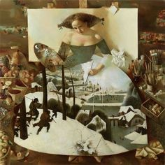 "Anna Berezovskaya, ""Dedication to P. Bruegel"""