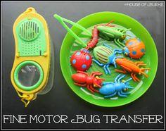 Fine Motor Bug Transfer - House of Burke