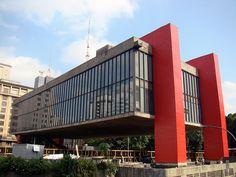 São Paulo Museum of Art MASP, Brazil // AB  | #Brazil  #Travel