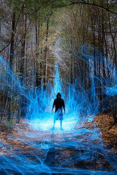 Unreal light painting by Dennis Calvert