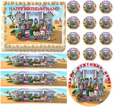 Sheriff Callie's Wild West Townspeople SHERIFF CALLIE Edible Cake Topper Frosting Sheet All Sizes