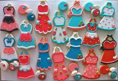 Adorable apron cookies!