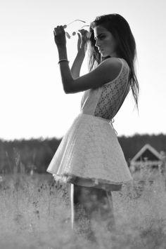 .. little white dress ..