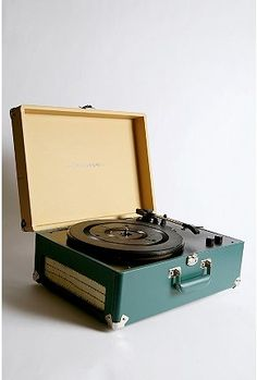 Got my first record player (just like this) when I was 5 yrs old.~~~I still have my small record player have to get it back to working . Liistened to the first Beatles record on mine.dabs