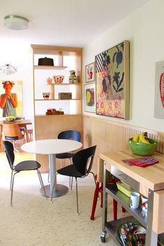 Susan & Herb's Handmade, Mid-Century Split Level House Tour
