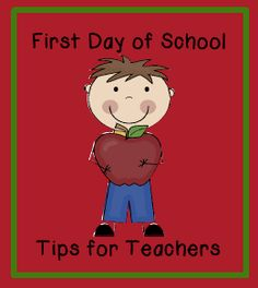 First day of school tips and FREE printables.