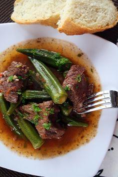 Kreas me Mpamies - Beef + Okra