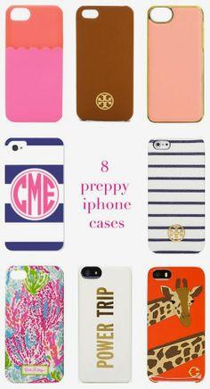 8 Preppy iPhone Cases