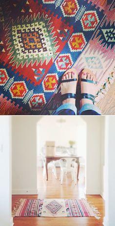 The best boho rugs