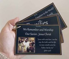 2014 Primary Theme/Scripture Cards