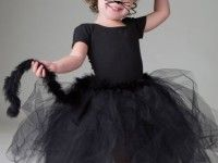 Cómo hacer un disfraz casero de gata para niñas