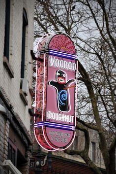 Voodoo Doughnuts. I miss it!